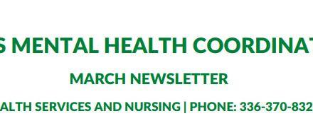 GCS Mental Health Coordinator Newsletter March 2021