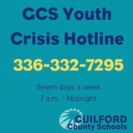 GCS Youth Crisis Hotline