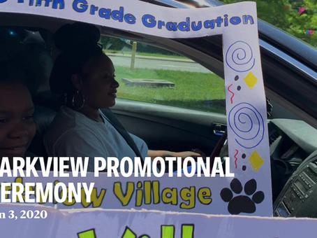 Fifth grade promotional ceremony @ Parkview Village ES