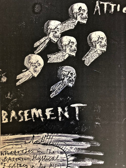 skulls in the basement by your place to space alexandra godwin