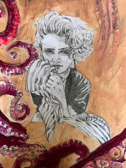 madonna drawing alexandra godwin your place to space