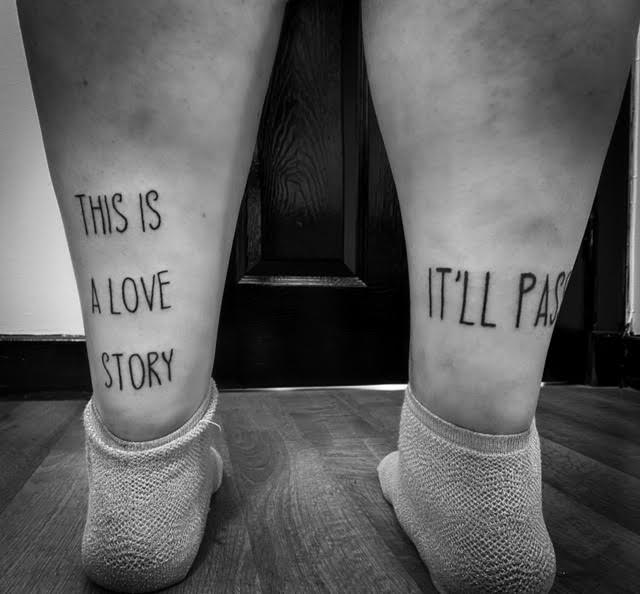 this is a love story it'll pass tattoo your place to space alexandra godwin