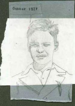 portrait sketch aleaxandra godwin your place to space