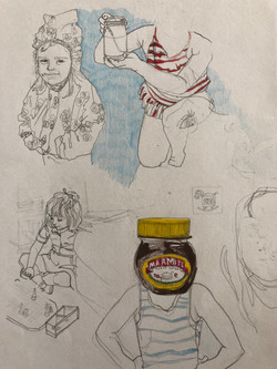 studies of childhood photos by alexandra godwin your place to space
