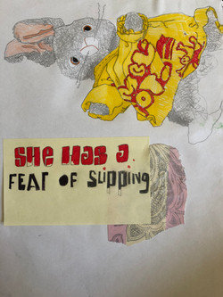 she has a fear of slipping by alexandra godwin your place to space