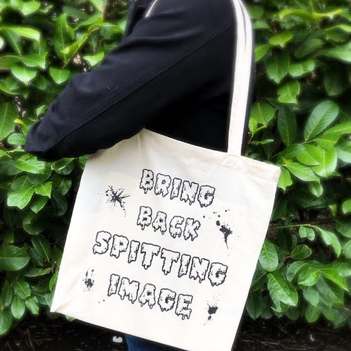 Type Tote Series: Bring Back Spitting Image