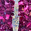 Thumbnail: Resin Dagger: Iridescent Gold Leaf & Holographic Hearts
