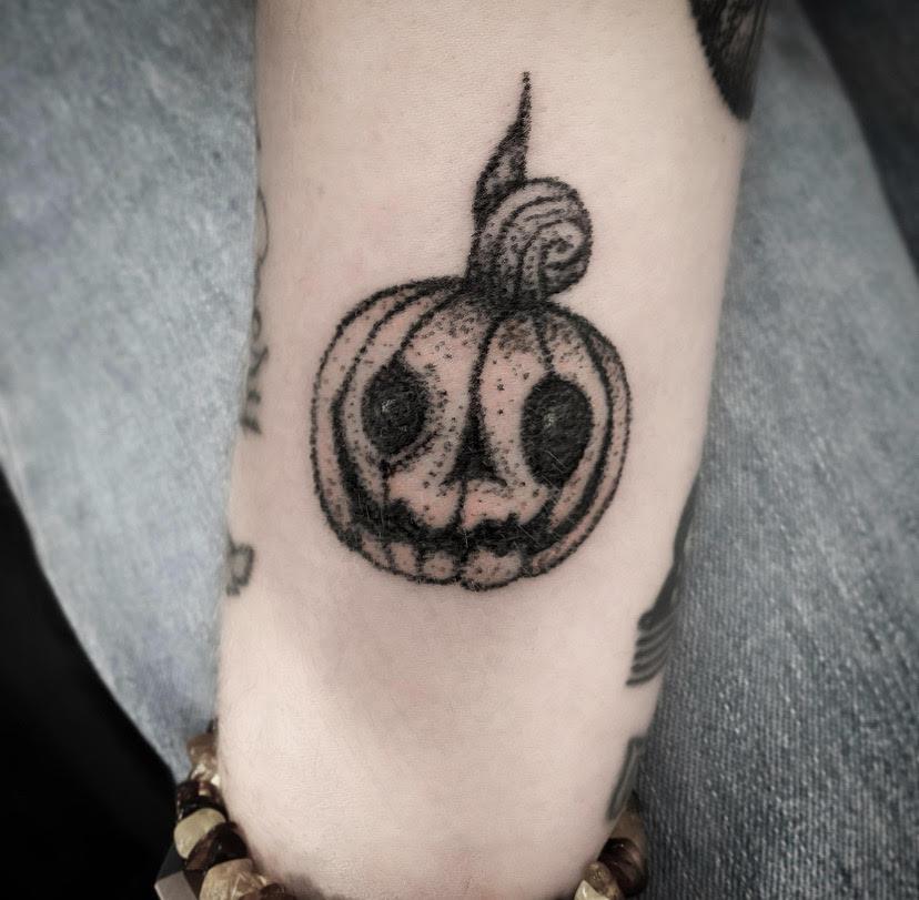 pumpkin tattoo alexandra godwin your place to space