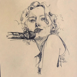 tori amos portrait sketch by alexandra godwin your place to space