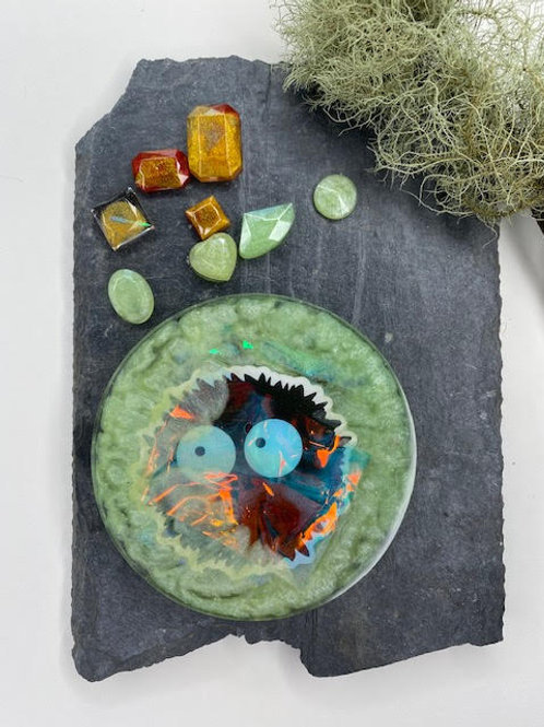 Resin Slice: Studio Ghibli Collection - Susuwatari Disk