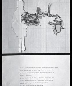 poltergeist diagram by alexandra godwin