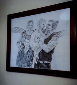 family portrait by alexandra godwin your place to space