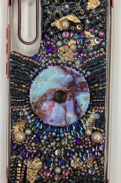 Phone Case: Dark Gems & Pop Socket - Huawei P20