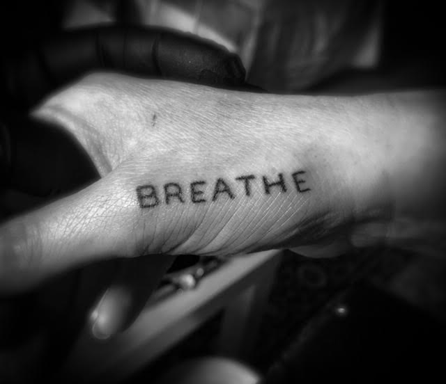 breathe tattoo Your Place To Space tattoo work by Alexandra Godwin