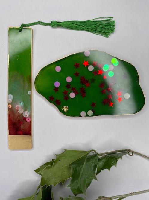 Gift Set: Christmas Collection - Slice & Bookmark Set (2pcs)