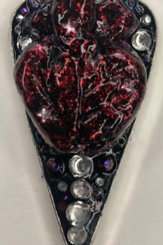 Talisman Pendant: Anatomical Heart Planchette