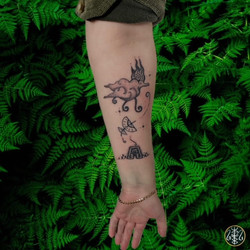 the last airbender tattoo handpoked by alexandra godwin your place to space