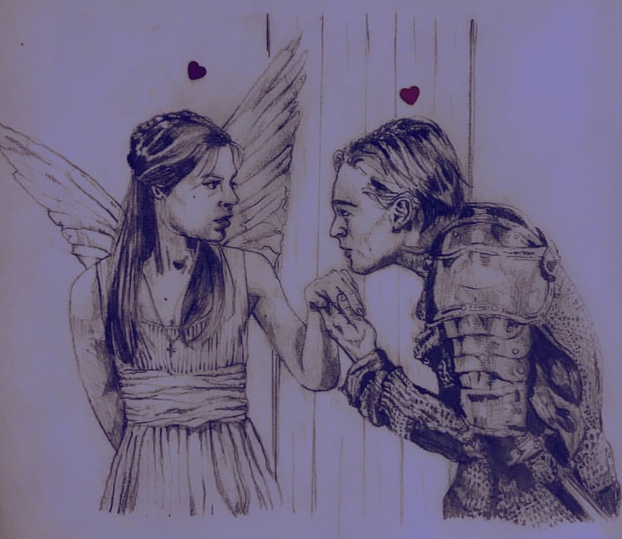 romeo and juliet baz luhrmann alexandra godwin your place to space drawing