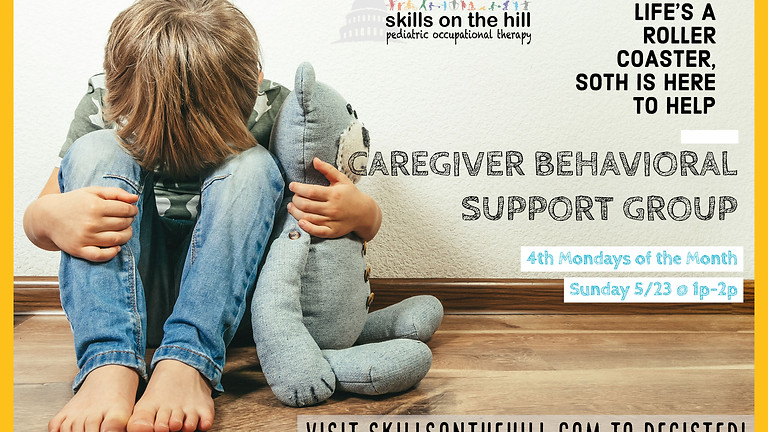 [POSTPONED] Caregiver Behavioral Support Group: In-Person Meetup!
