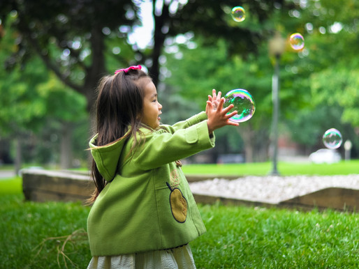 These Are A Few of Our Favorite Things: Bubbles