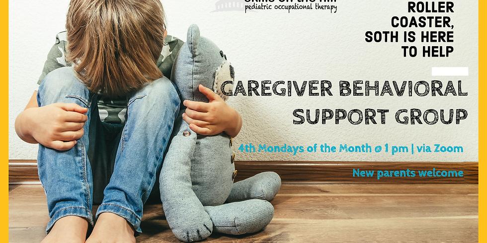 Caregiver Behavioral Support Group