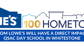 Lowe's Awards QSAC a Grant as a Part of Their 100 Hometowns Initiative