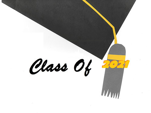 Graduation Cards - Class of 2021 [Pack of 10 - Assortment of 3 Designs]