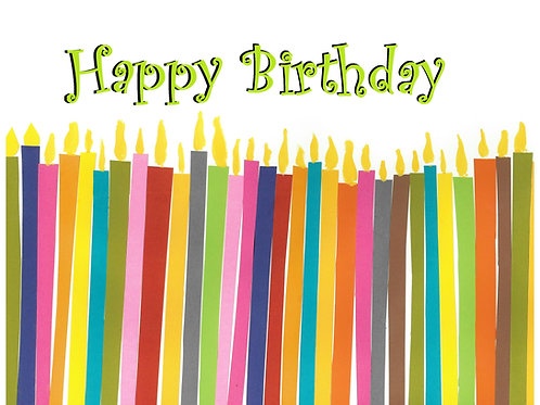 Birthday Cards [Pack of 10 - Assortment of Designs]