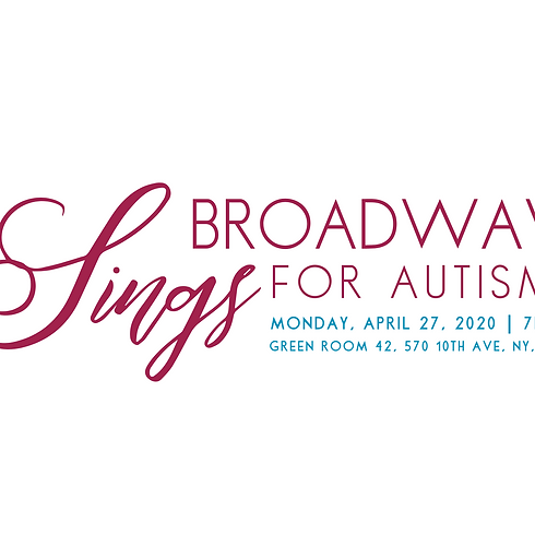 Broadway Sings for Autism