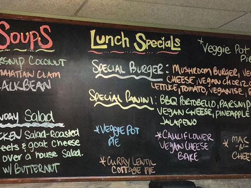 MONDAY'S LUNCH SPECIALS