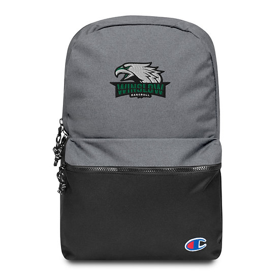 Winslow Baseball (Embroidered Champion Backpack)