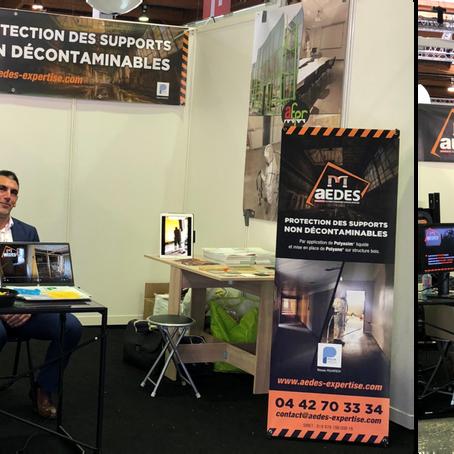 AEDES au Salon des Professionnels de l'Amiante 2018 à Paris !