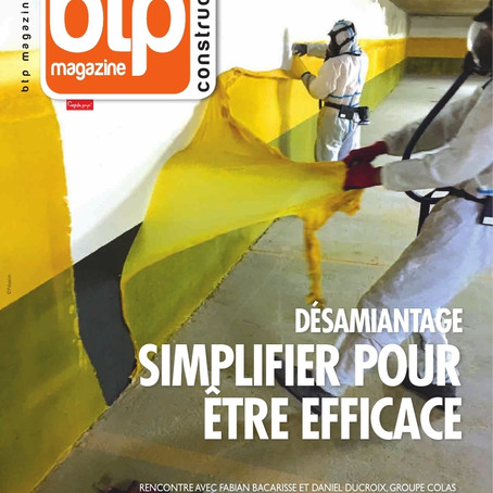 AEDES en couverture de BTP Construction Magazine !