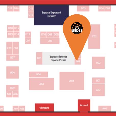 AEDES vous donne RDV au Salon des Professionnels de l'amiante 2021 !