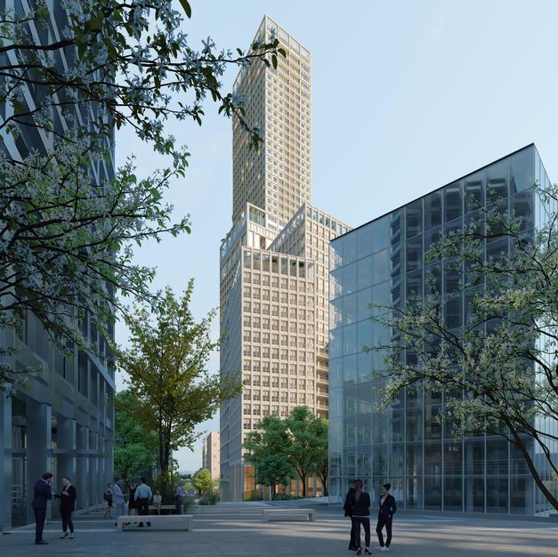 Hardel Le Bihan - YTAA - Adjaye Associates - Buzzo Spinelli Architecture