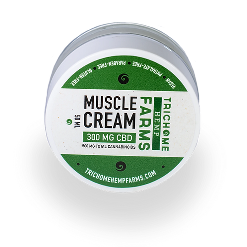 Trichome Farms 300mg Muscle Cream