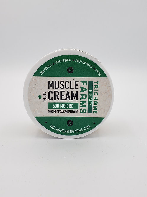 Trichome Farms 600mg Muscle Cream