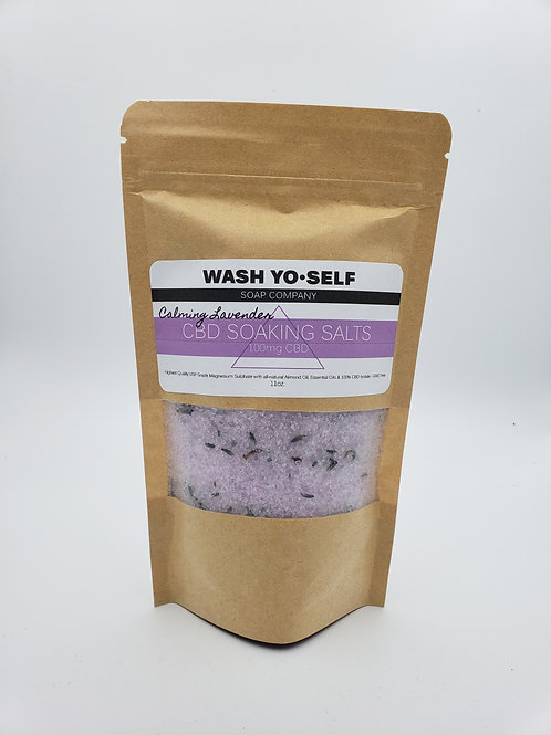 Wash Yo-Self 100mg Soaking Salts