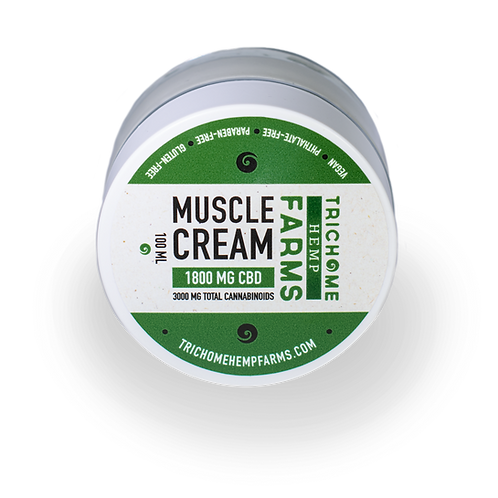 Trichome Farms 1800mg Muscle Cream