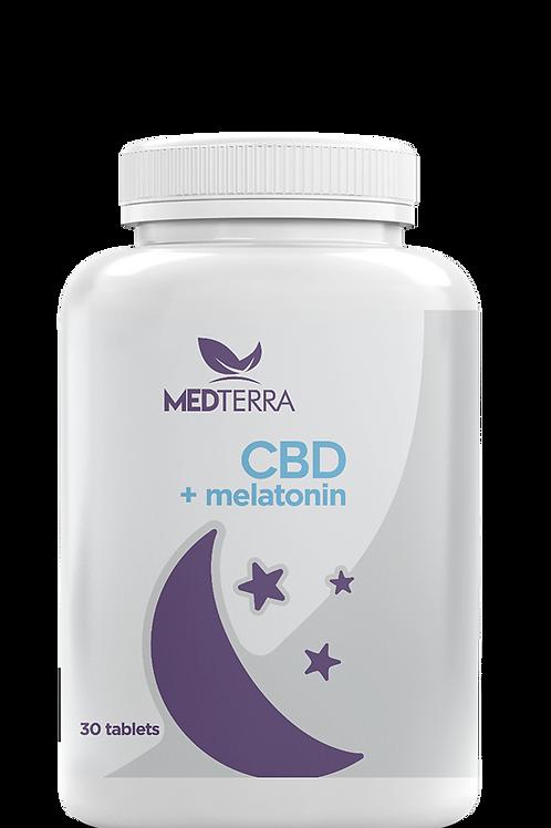 MedTerra CBD Sleep Tablets w/ Melatonin - 25mg
