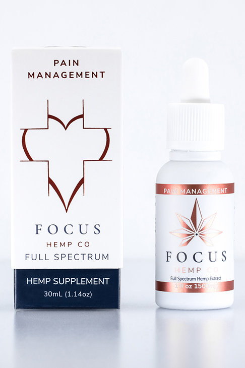 Focus Hemp Co Pain Management Tincture