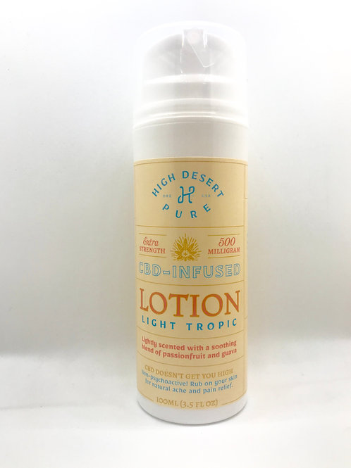 500mg Lotion High Desert Pure