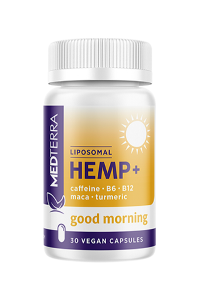 MedTerra Good Morning CBD Capsules - 25mg