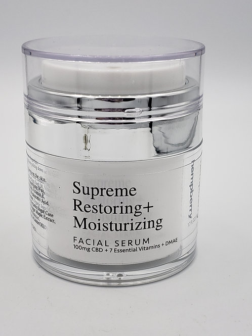 Hempberry Supreme Restoring + Moisturizing Facial Serum