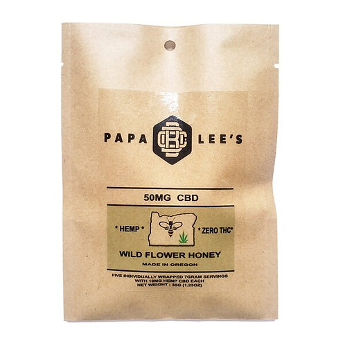 Papa Lee's CBD Infused Honey Packets