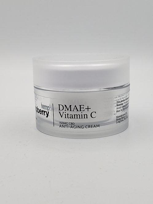 Hempberry DMAE + Vitamin C Anti-Aging Cream