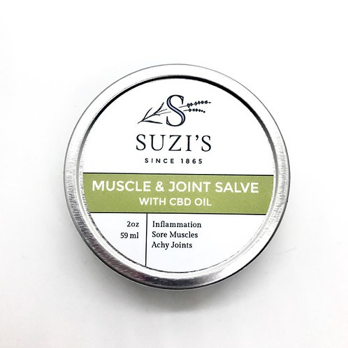 Suzi's Muscle & Joint Salve