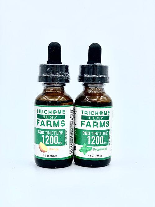 1200mg CBD Tincture Trichome Farms