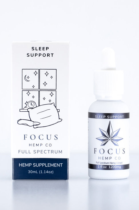 Focus Hemp Co 1200mg Sleep Support Tincture