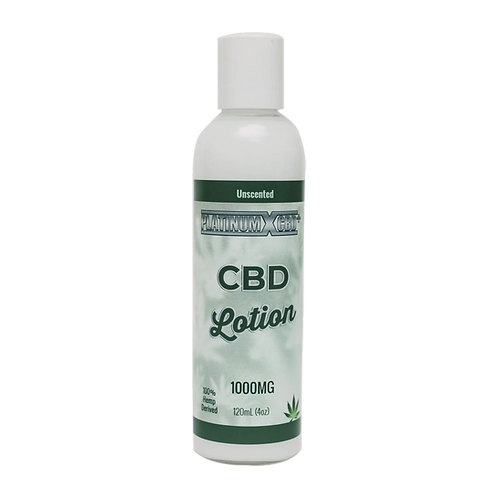 Platinum-X 1000mg CBD Lotion